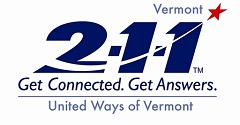 211 United Ways of Vermont logo